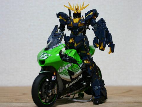 バイクの模型にちょうどよいサイズ