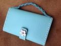 小さな財布(水色)