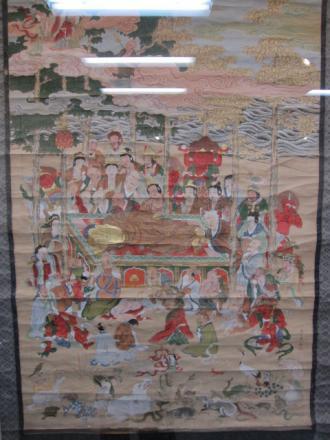 釈迦涅槃図(井上五川画)