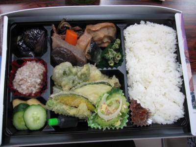 お弁当の中身、野菜たっぷ~り