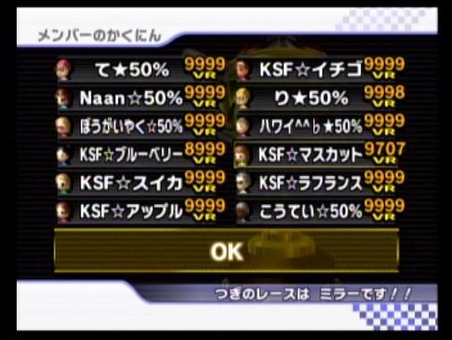 KSF vs 50  メンツ