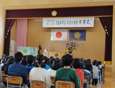 卒業式2012