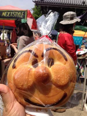 アンパンマンのパン手作り市