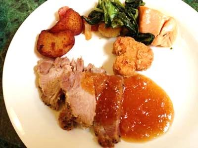 30th クリスタルパレス ブッフェ料理2