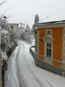 Schnee strasse 131210