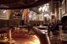 Viel Platz im Bierhaus