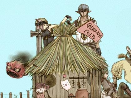 プレーンフォークの家リンク紹介2-1 ミコッテとエレゼンの木工師