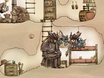 プレーンフォークの家リンク紹介2-5 エレゼンとララフェルの竜騎士