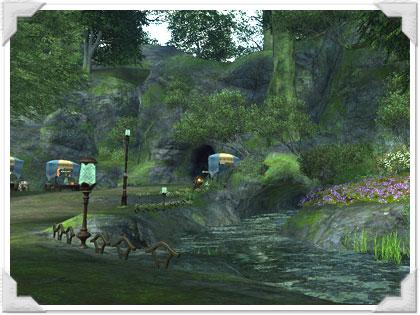 ウィンダスに似ているグリダニアの風景