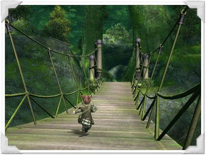 黒衣森を抜けるララフェル