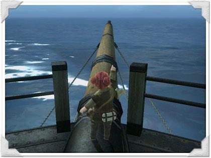 リムサロミンサ行きの船で