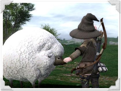羊のロストユーに出会った