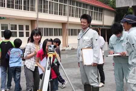 測量体験学習