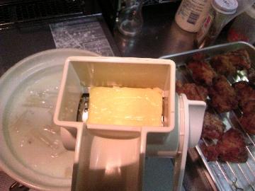 ひからびたチーズ