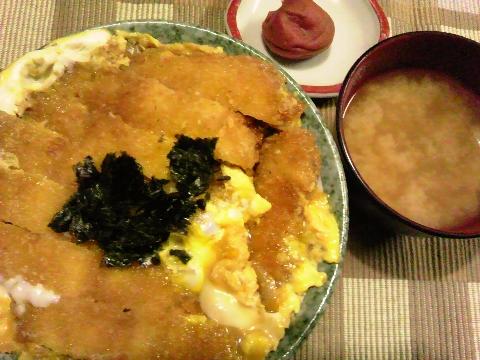 2013ラストカツ丼
