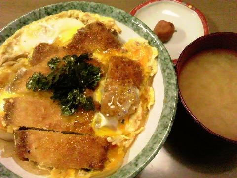 2014初カツ丼