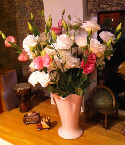 長坂農園さんの花