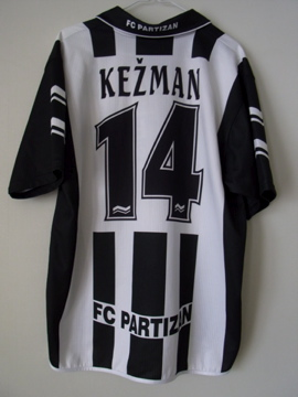 パルチザン99-00(H)s/s#14kezman#1