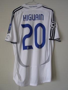 レアルマドリー06-07(H)s/s#20higuain#1
