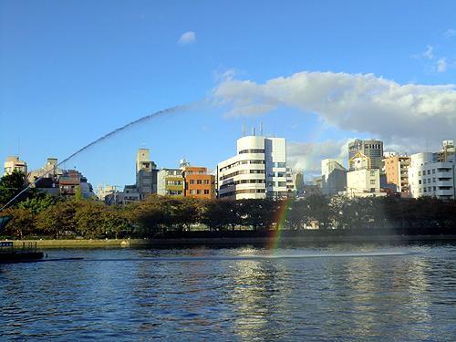 虹がきれい☆