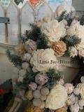 little bee wreath 2013 winter