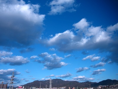 20110117_青空と雲