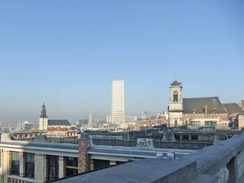 ブリュッセルの建物