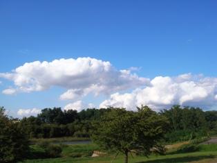 津軽の青空
