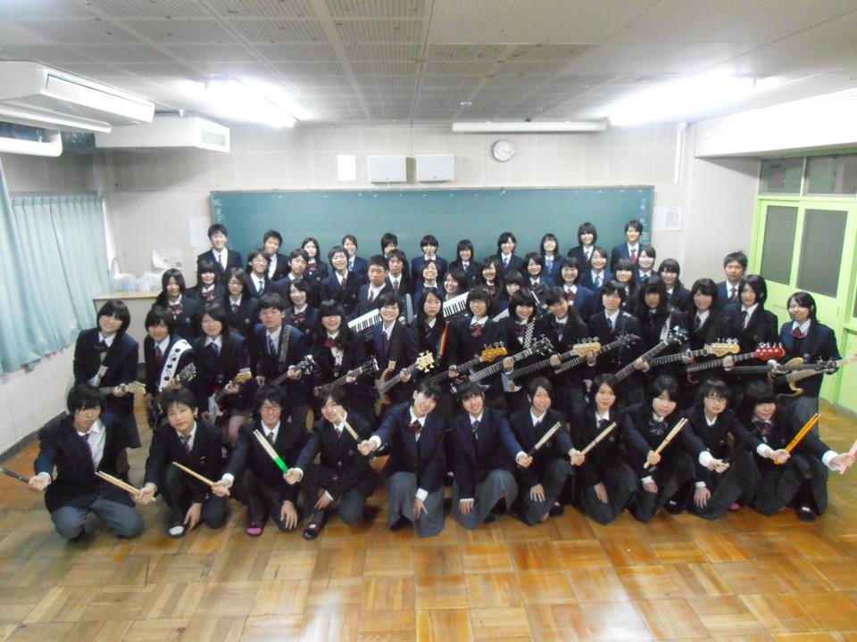 柴島高校軽音楽部