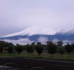 浅間(春冠雪)