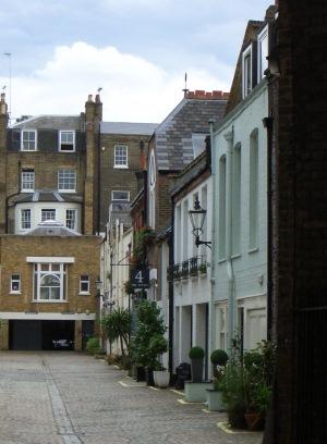 ロンドンの街歩き