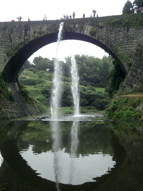 230904 通潤橋放水10