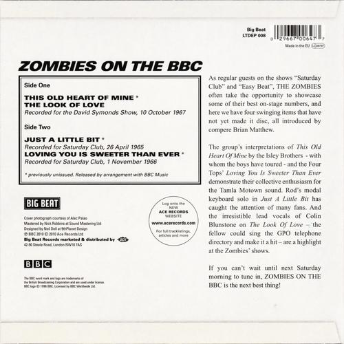 The Zombies - Zombies On The BBC 2