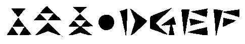 モンハン文字4890dgef