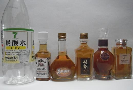 ミニボトル対比