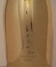 金色シャンパンラベル