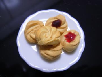 小さいクッキーお皿