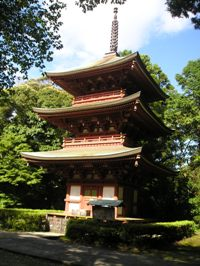 油山寺の三重塔