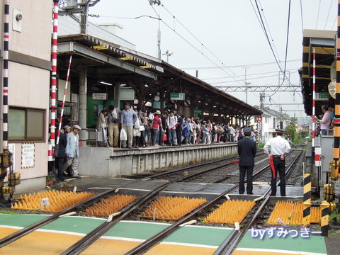 長谷駅 中