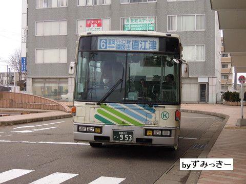 頸城自動車 長岡22か・953 前