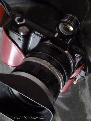 ヤシカ製外付けファインダー コニカARヘキサノン57mmF1.4