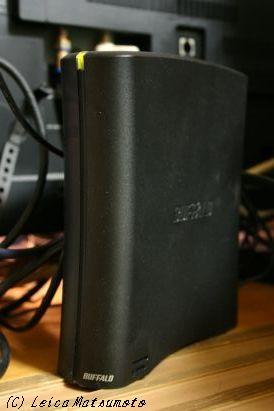 レグザ用にHDDをコンバート
