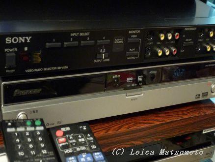 SONY AVセレクター SB-V550