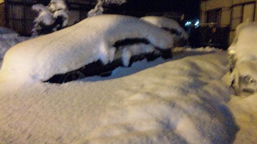 そして大雪