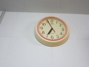 台所の時計