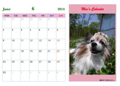 マックカレンダー2014 00006