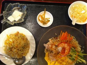 上海冷麺定食
