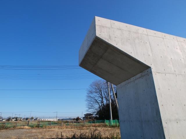 平成24年度開通予定の区間の大半が延期されてしまった茨城県区間です。