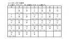 はんのき店番表2014年12月