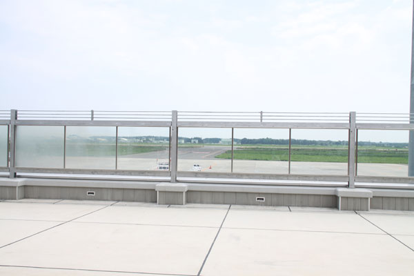 茨城空港見学♪